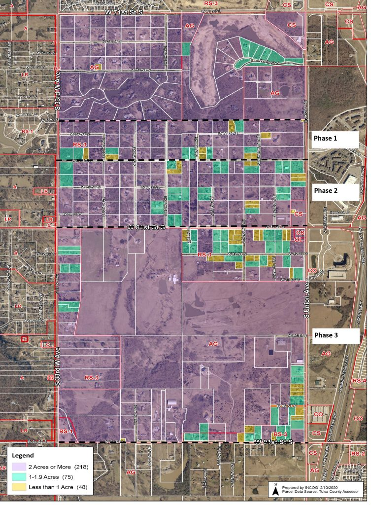 AG-R Re-Zoning Program Phase Map